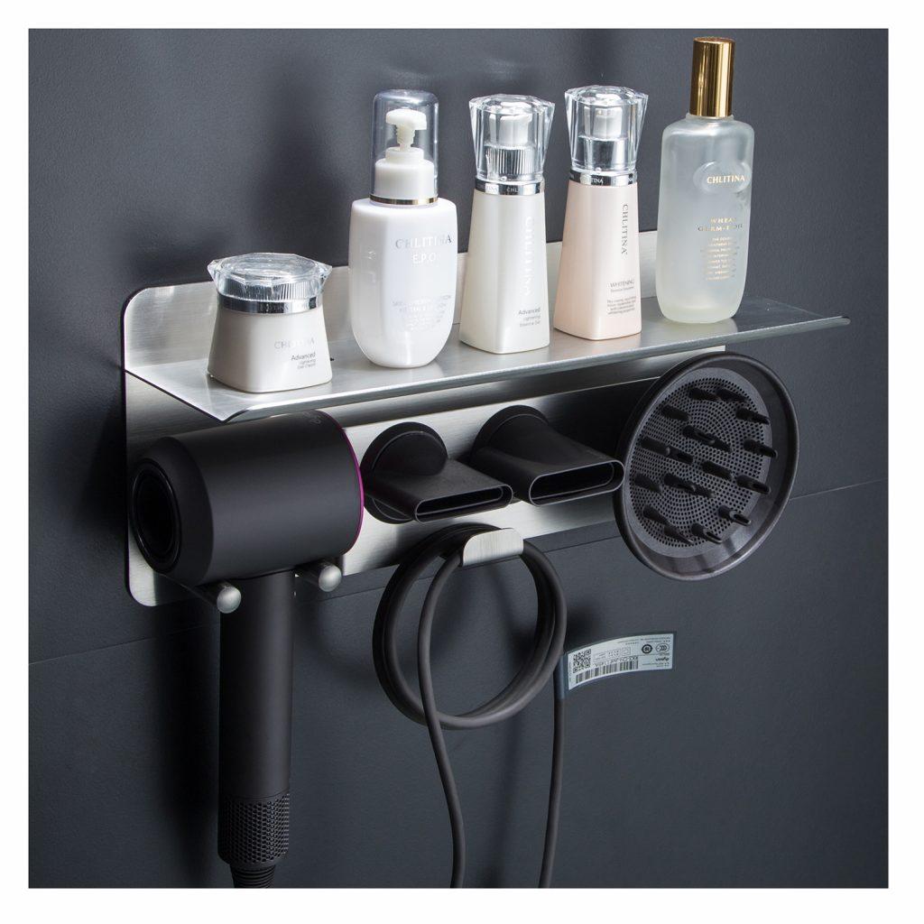 blow dryer holder