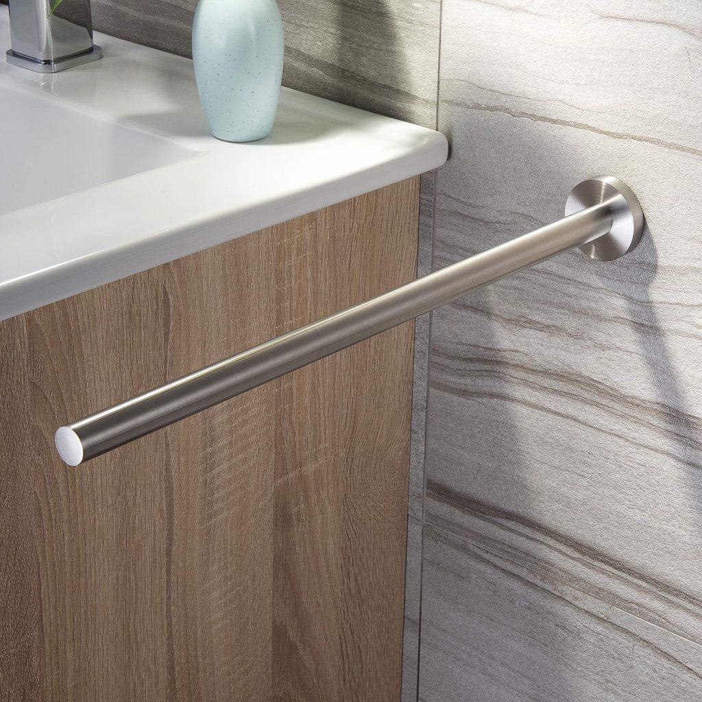 single-arm wall-mounted towel holder
