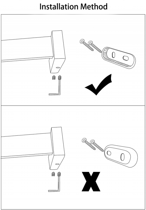How to install a towel bar