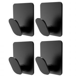 black towel hooks for bathroom