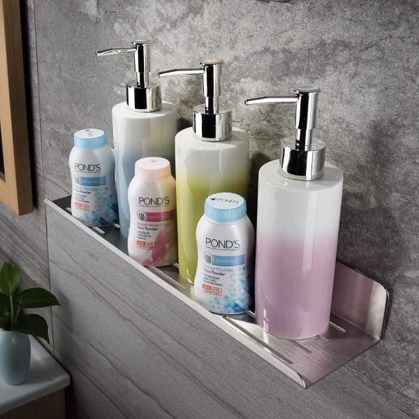 stainless steel shampoo holder