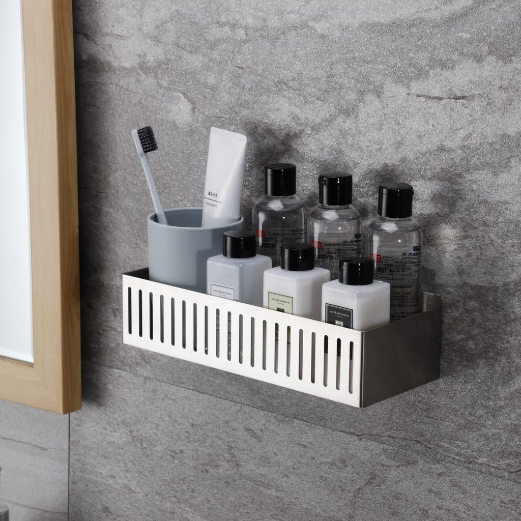 rust free stainless steel shower caddy