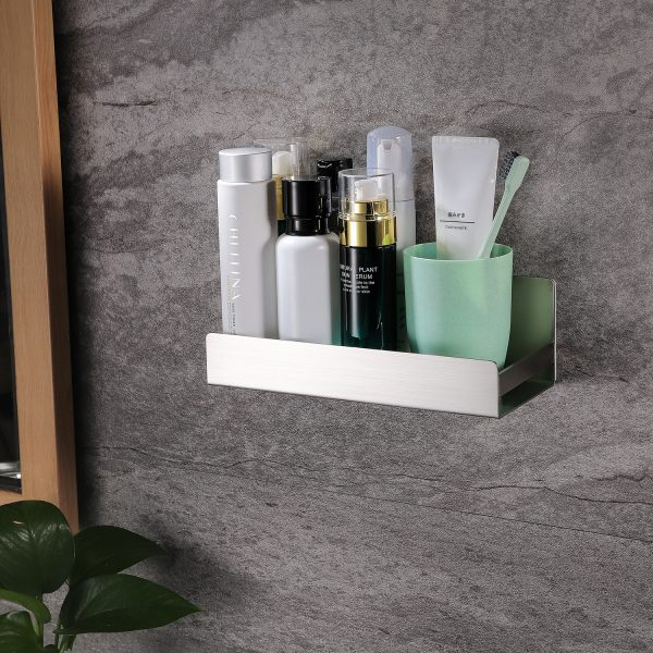 stainless steel shower caddy