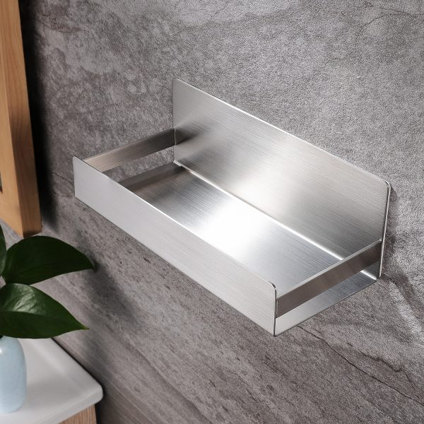shower caddy with large storage space