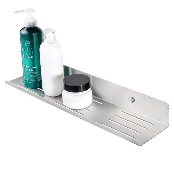 brushed shampoo holder