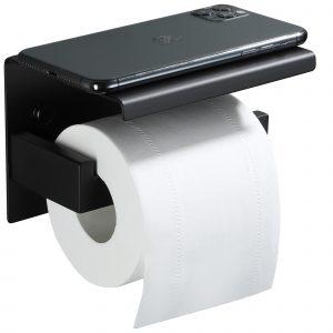 yigii black toilet paper holder