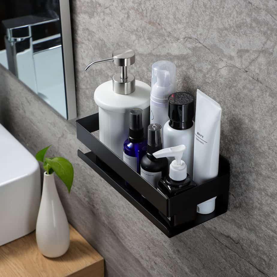 hanging modern shower caddy
