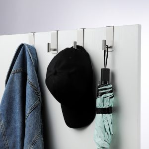 gebogene Duschtürhaken