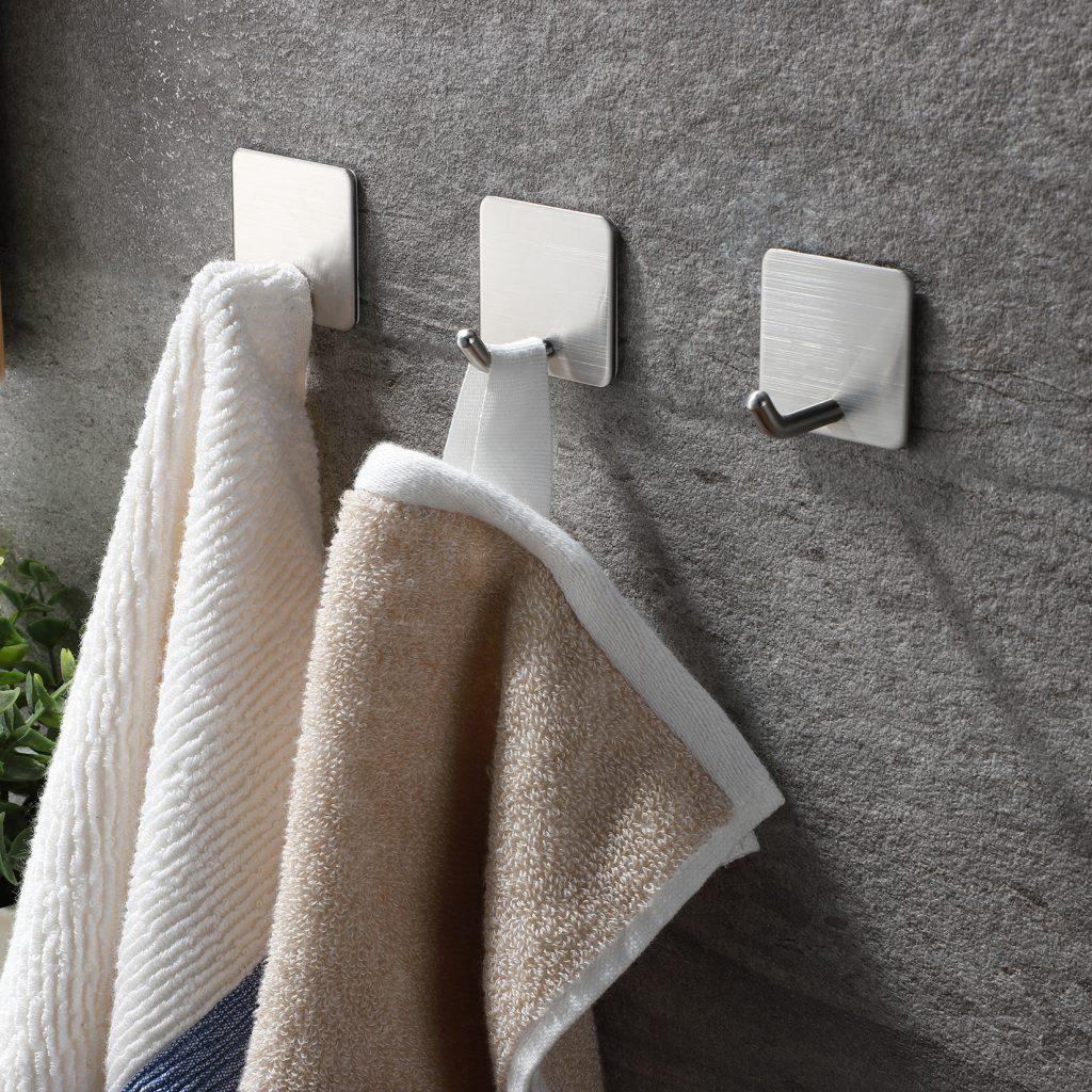 decorative bath towel hooks