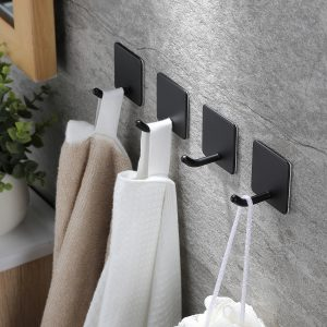 stainless shower towel hook