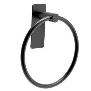 black towel ring