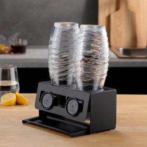 Bottle Drying Rack For SodaStream Glass Bottles,