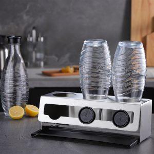 Flaschenregal für SodaStream-Flaschen