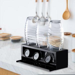Drying rack for sodastream glass bottles